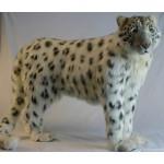 Snow Leopard Standing (mechanical)