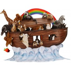 Noah's Ark With Animals, Set Of 25 (mechanical)