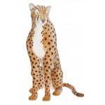 Cheetah Sitting Life Size