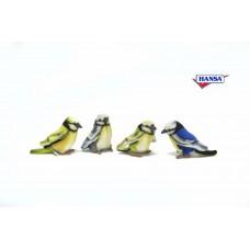 Birdies, Four Assorted Colors