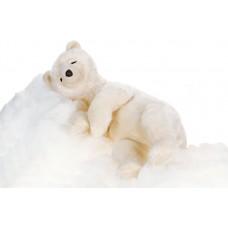 Creme Bear Sleeping