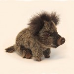 "Wild Boar Baby Seated 8.70""L"
