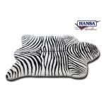 """Zebra Floor Rug 68.25""""L x 58.50""""W"""