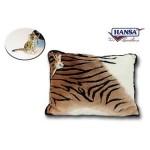 Tiger Throw Pillow w/ Tiger Keychain