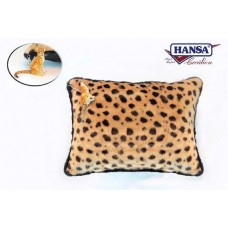 Cheetah Throw Pillow w/ Cheetah Keychain