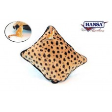 Cheetah Throw Pillow w/ Keychain