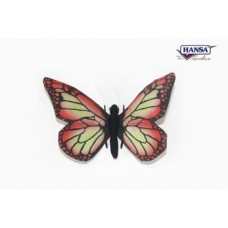 "Butterfly Red 5.50""W"