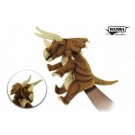 "Triceratops Puppet (Brown) 16""L"