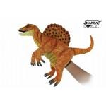 "Spinosaurus Puppet (Yellow / Gold) 16""L"