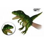 """T-Rex Puppet (Neon Green) 19""""L"""